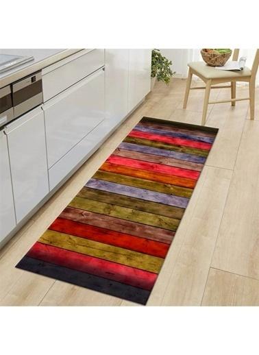 MarkaEv Kitchen 21 Mutfak Halısı 133*190cm Renkli